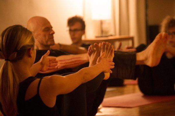 Pilates lezione - Centro Tao Biella