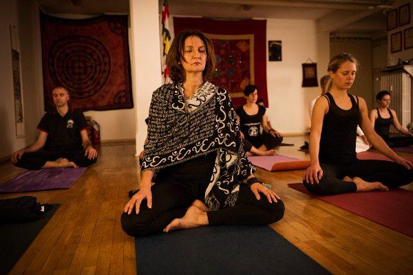 Yoga lezione - Centro Tao Biella